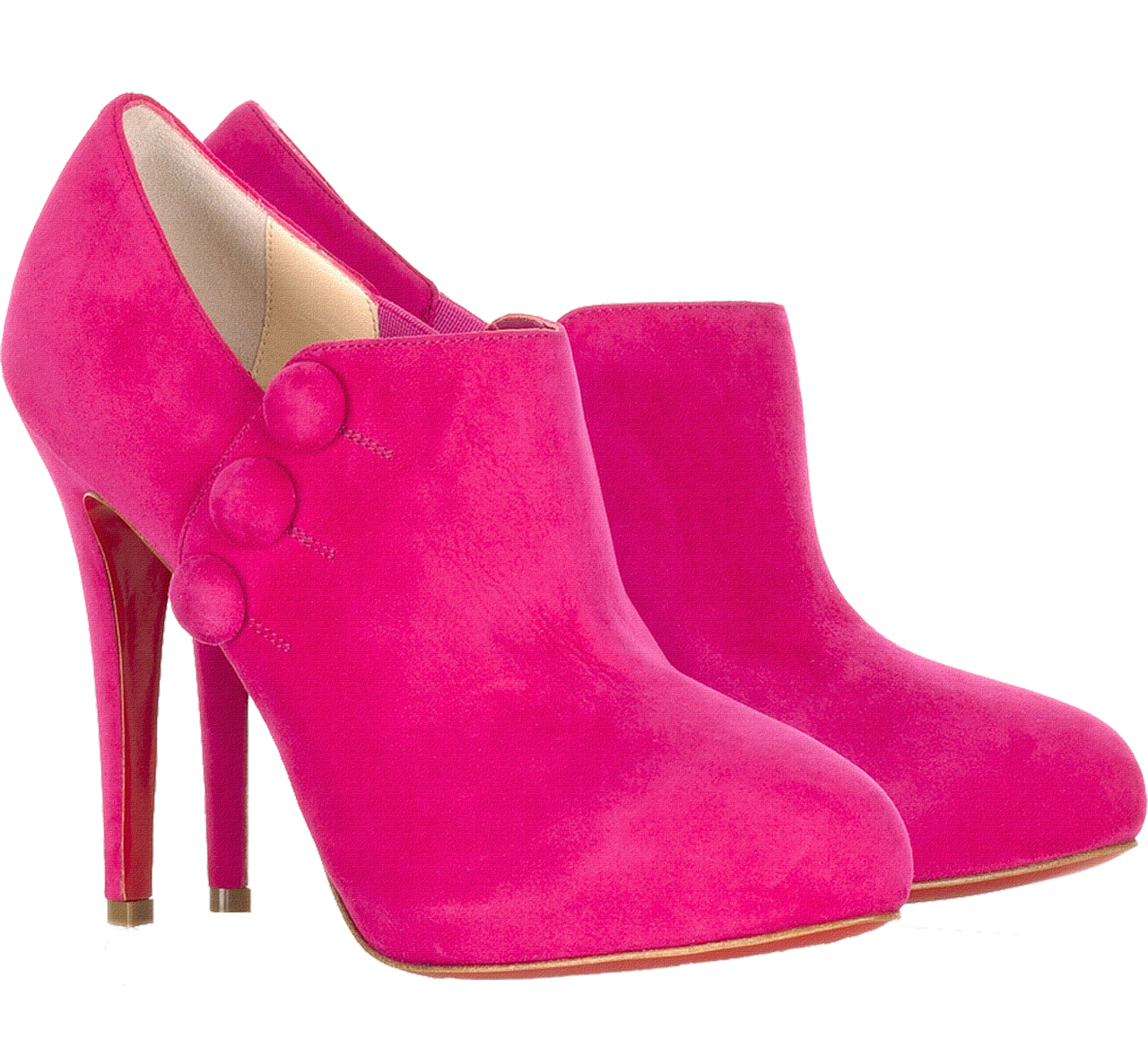 Pink shoes png. Women picture web icons