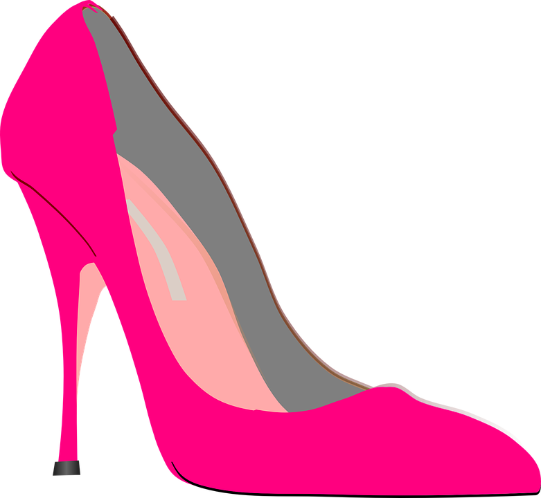 Pink shoes png. Stiletto heels transparent images
