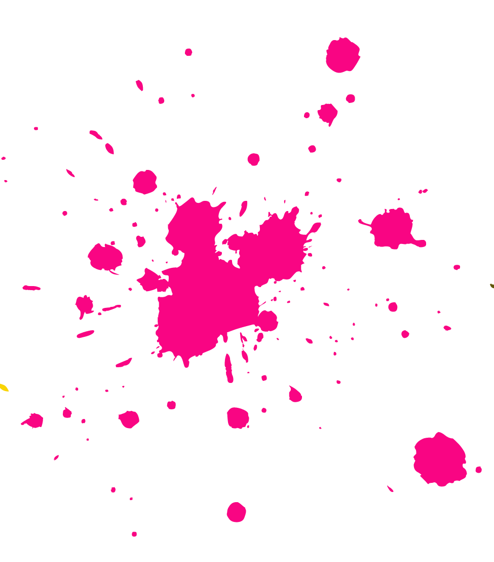 Pink splat png. Mudslingers the top negative