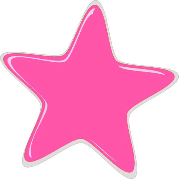 Pink stars png. Star designs clipart