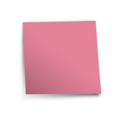 Postit vector pink. Free post it note