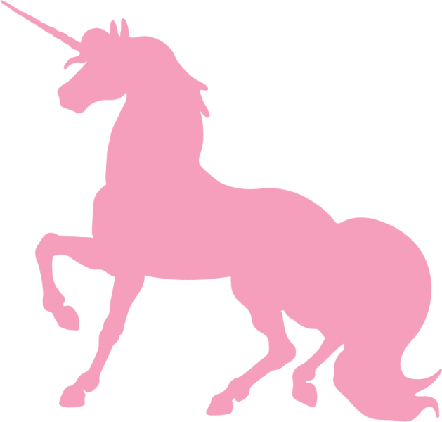 Pink unicorn png. Silhouette free icons and
