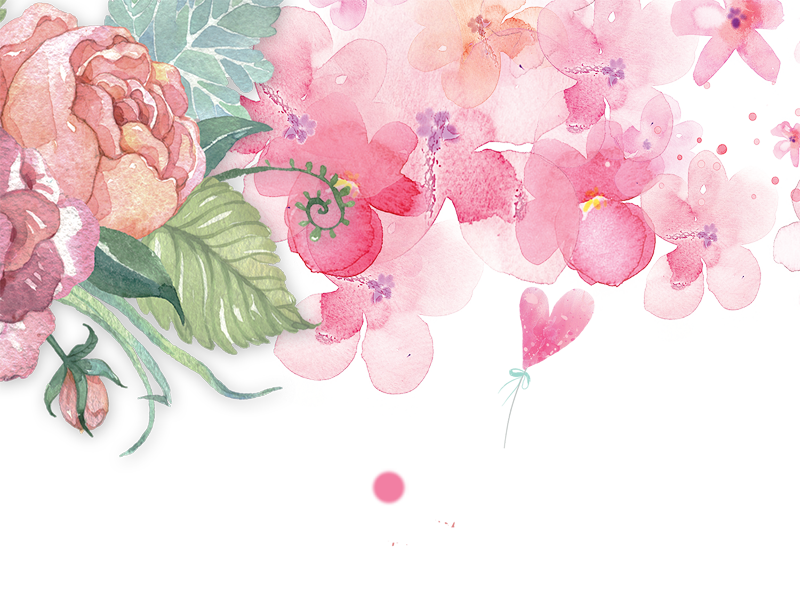 Pink watercolor flower png. Vector clipart psd peoplepng