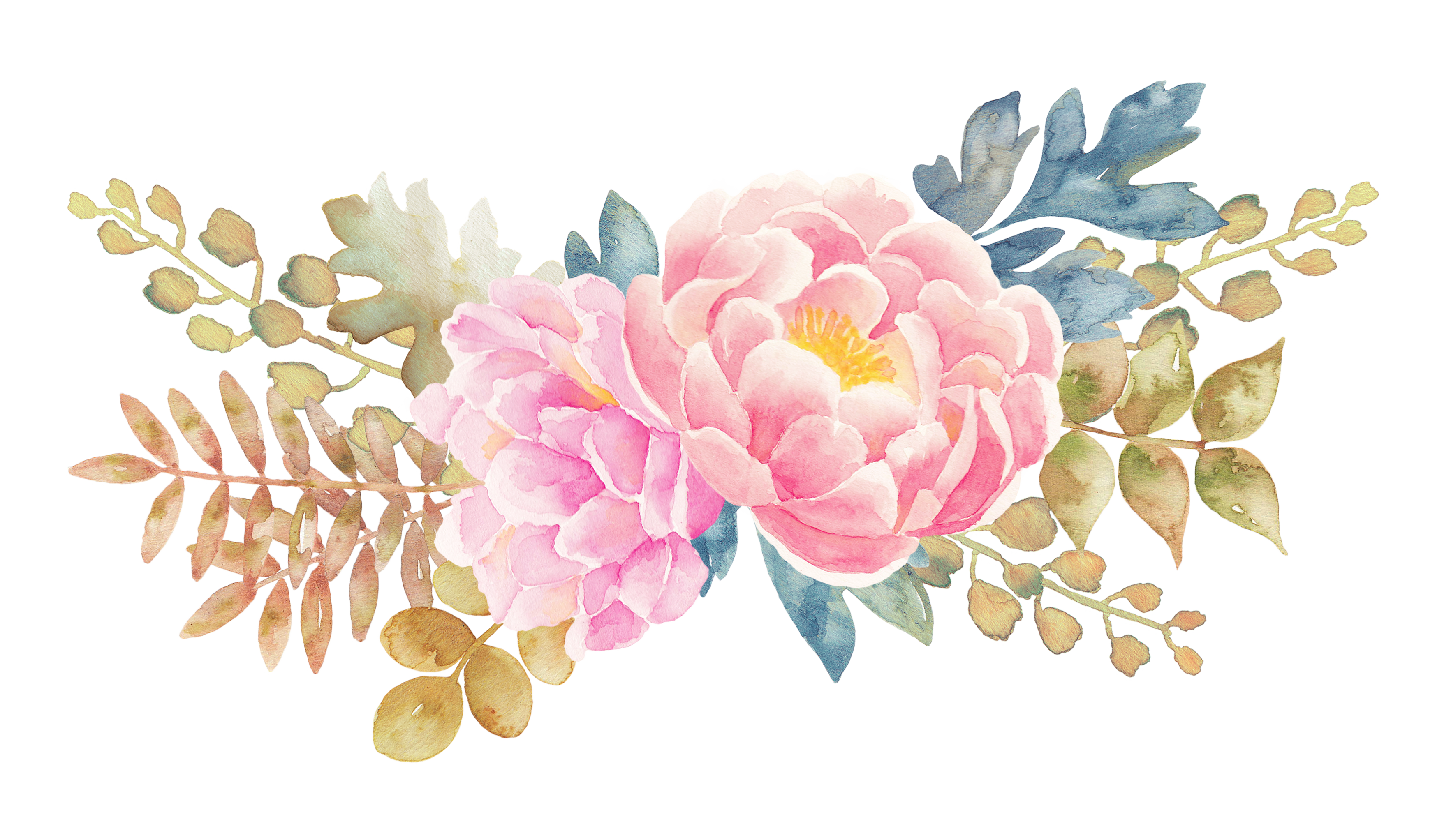 Watercolour pinterest. Pink watercolor flower png picture free stock