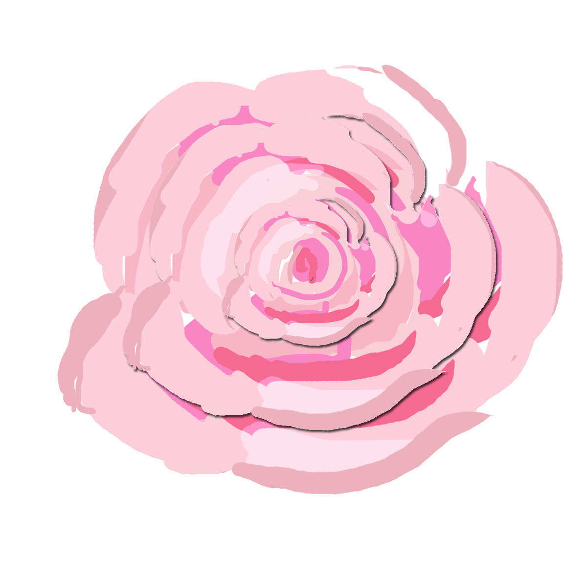 Pink watercolor roses png. A scrapbook of inspiration
