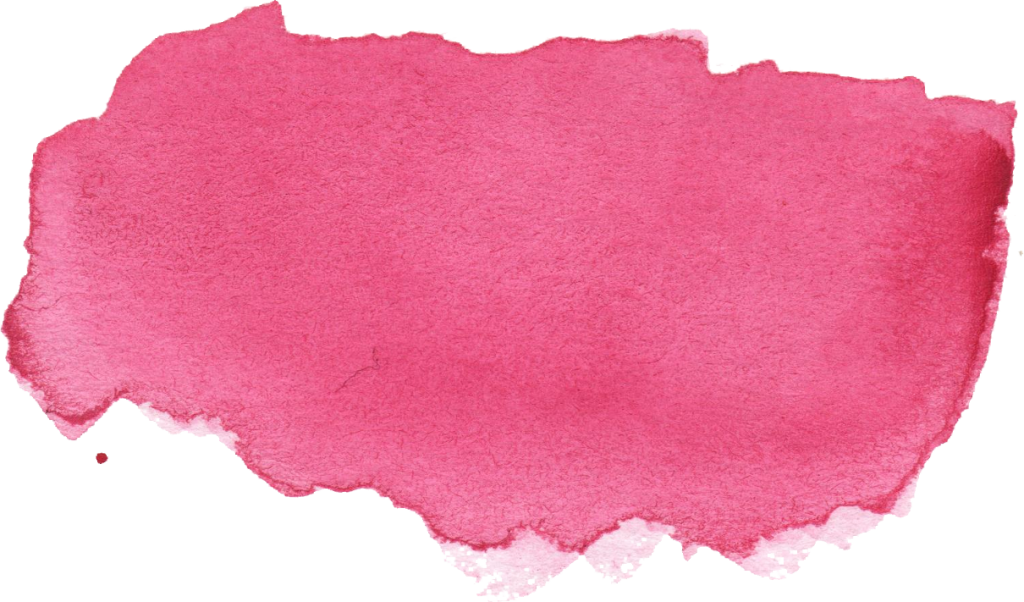 Pink watercolor stroke png. Brush banner transparent