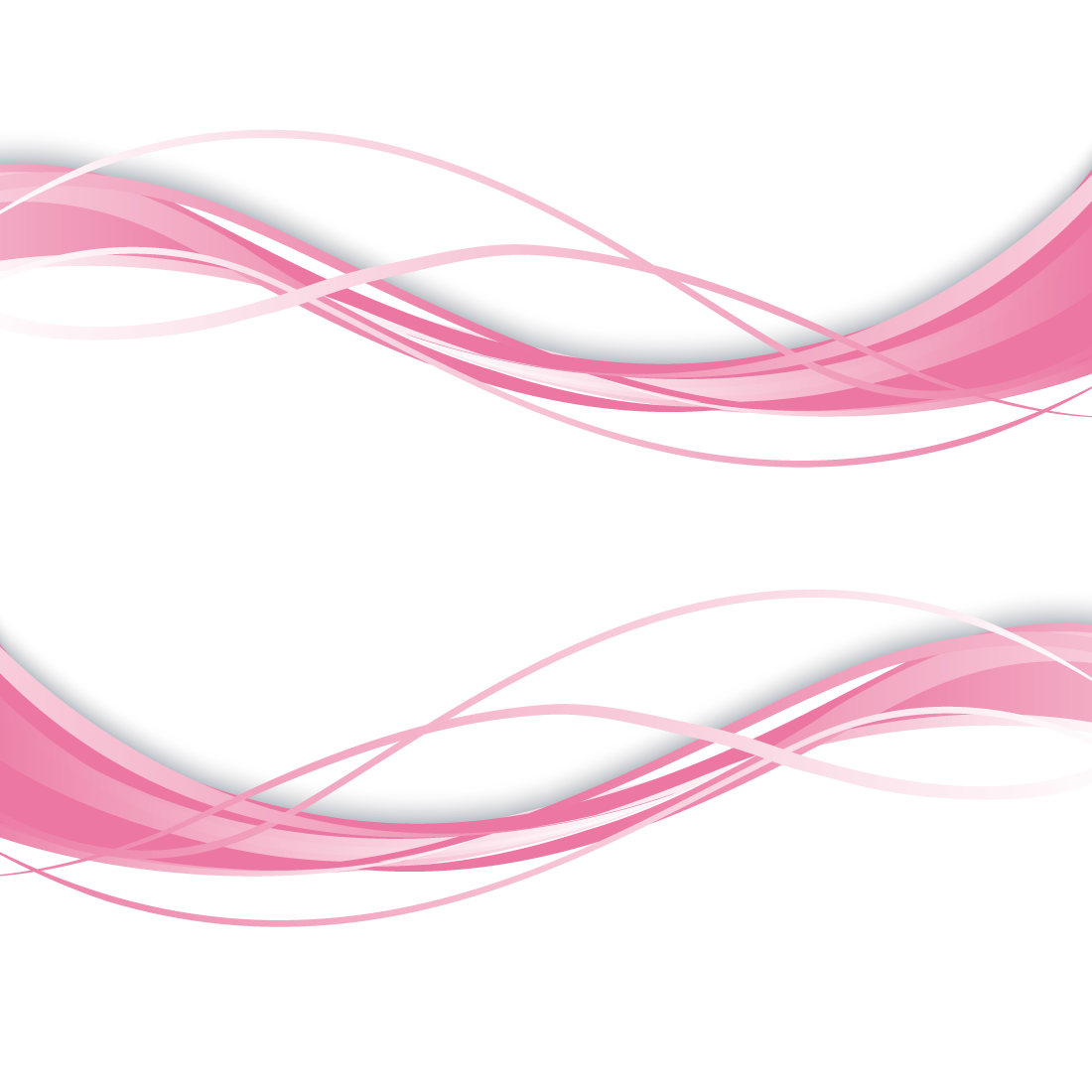 Heaven vector curved. Wave euclidean curve pink