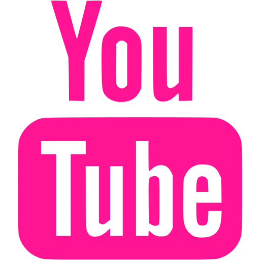 Pink youtube png. Deep icon free site