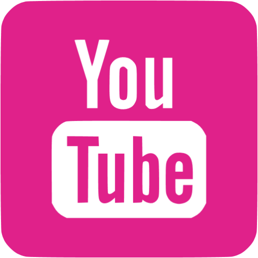 Pink youtube png. Barbie icon free site