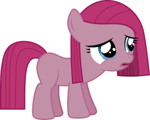 pinkamena vector filly
