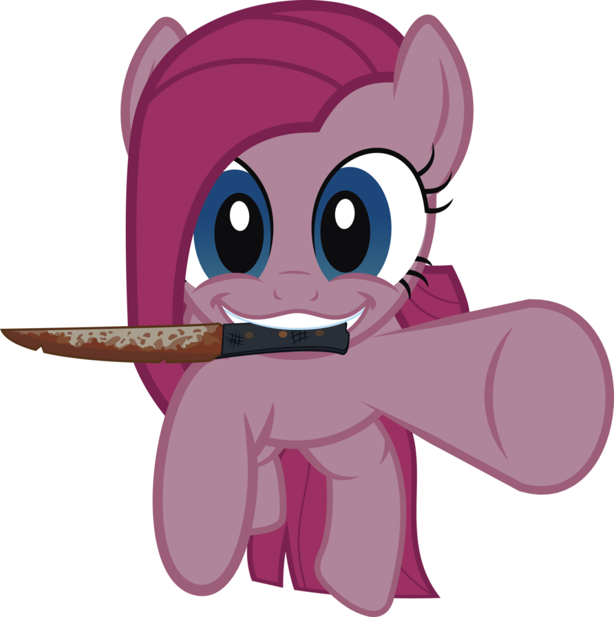 Pinkamena vector surprise. By j a on
