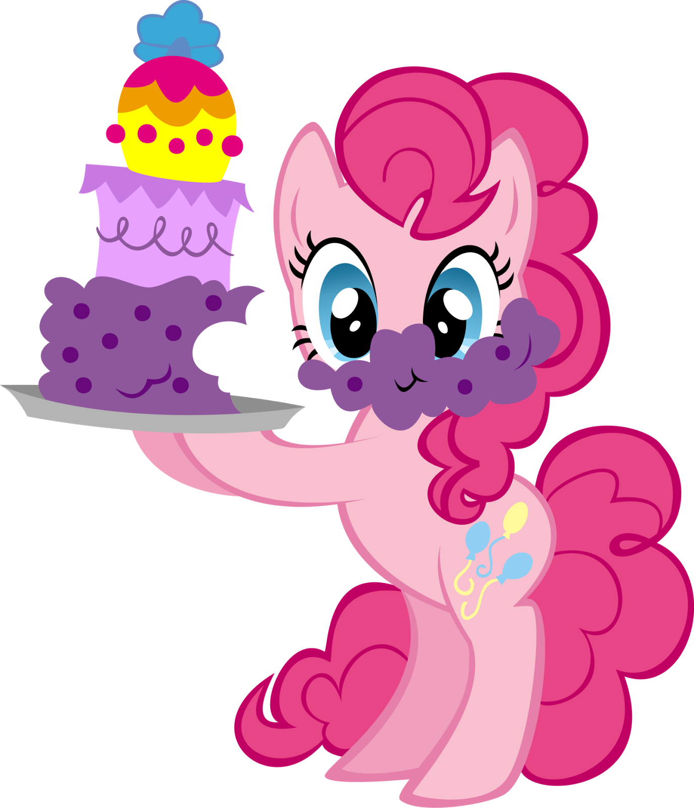 pinkie pie drinking png