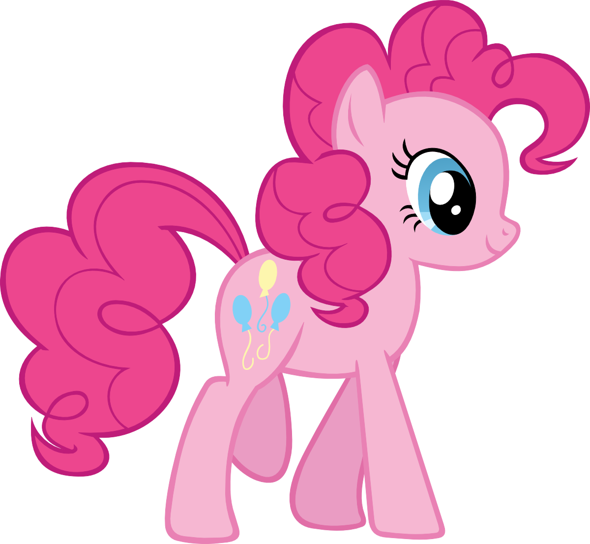Pinkie pie no png. Which my little pony