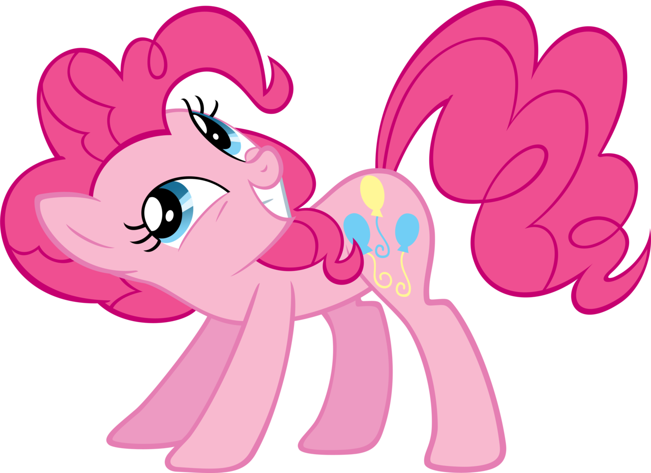 Pinkie pie laughing png. Image again by moongazeponies