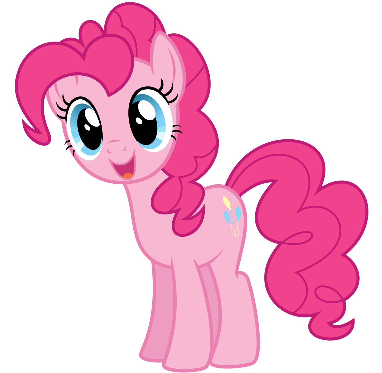 Pinkie pie png. Image fanmade happy by