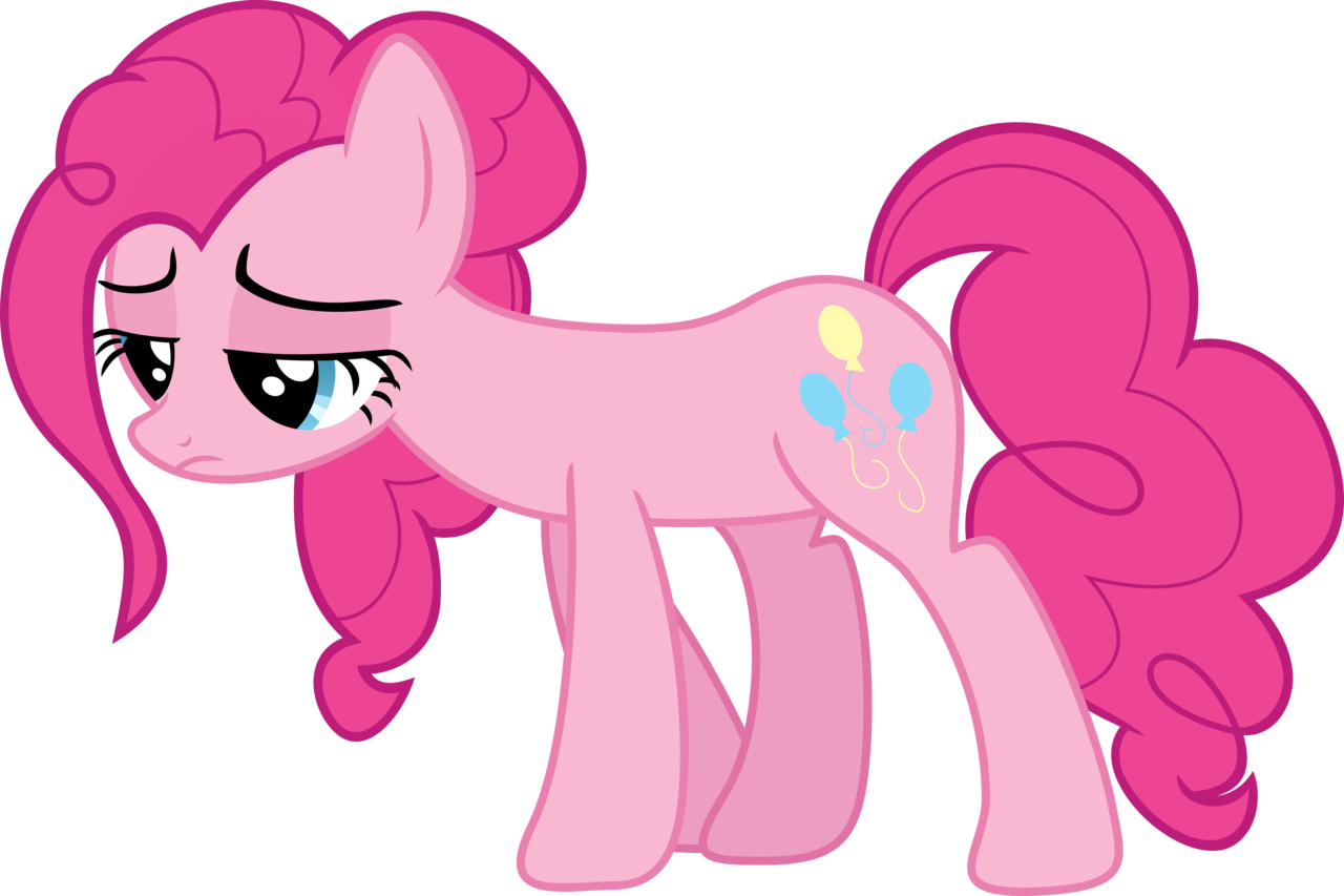pinkie pie tired png