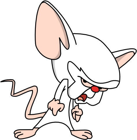 Characters pinky and the brain