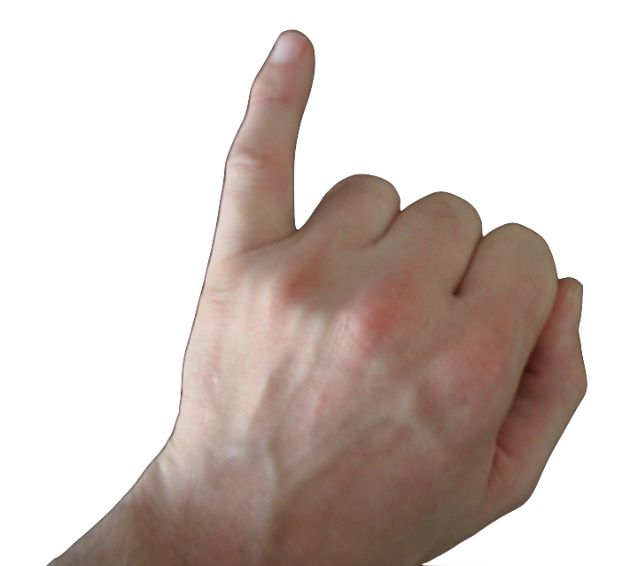 Pinky finger png. Little the middle thumb