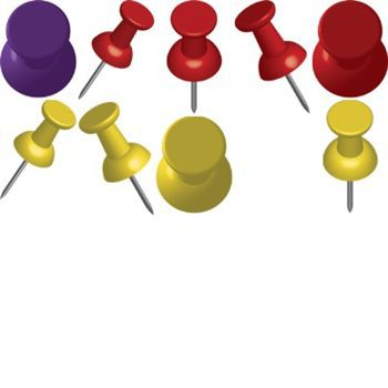 Push clip art digital. Pins clipart picture royalty free stock