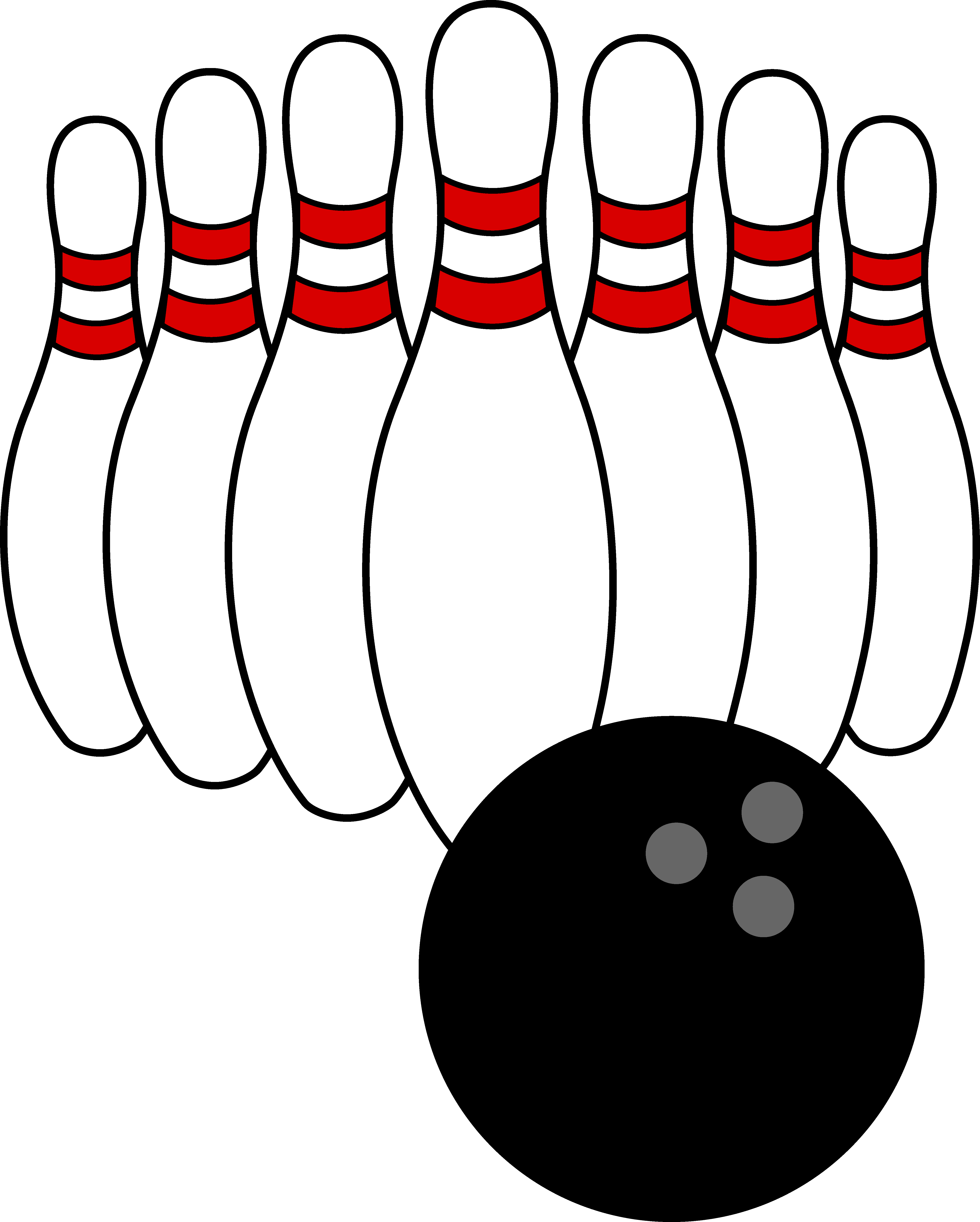 Bowling clipart candlepin bowling. Clip art ball and
