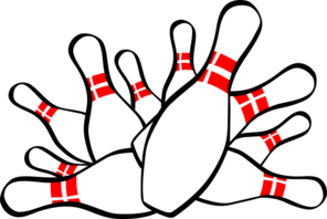 Bowling clip art at. Pins clipart svg library library
