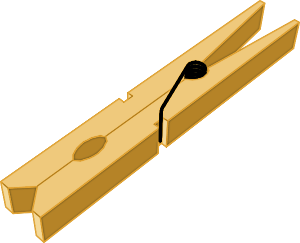 Pins clipart clothespin. Clothes pin