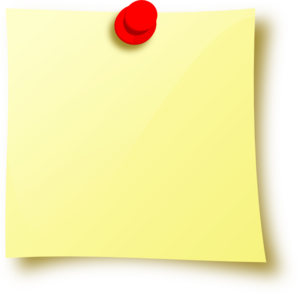 blank post it note png