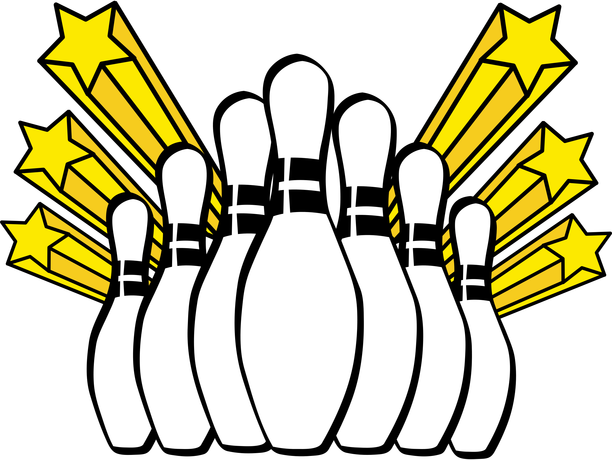 Pins drawing. Bowling at getdrawings com
