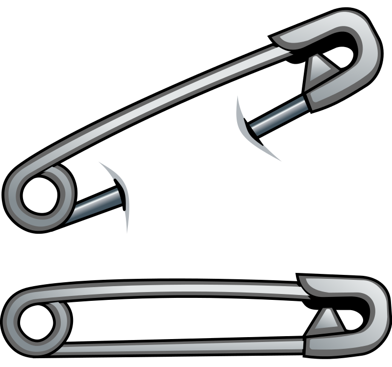 Pins vector safety pin. By cyberscooty tattoos pinterest