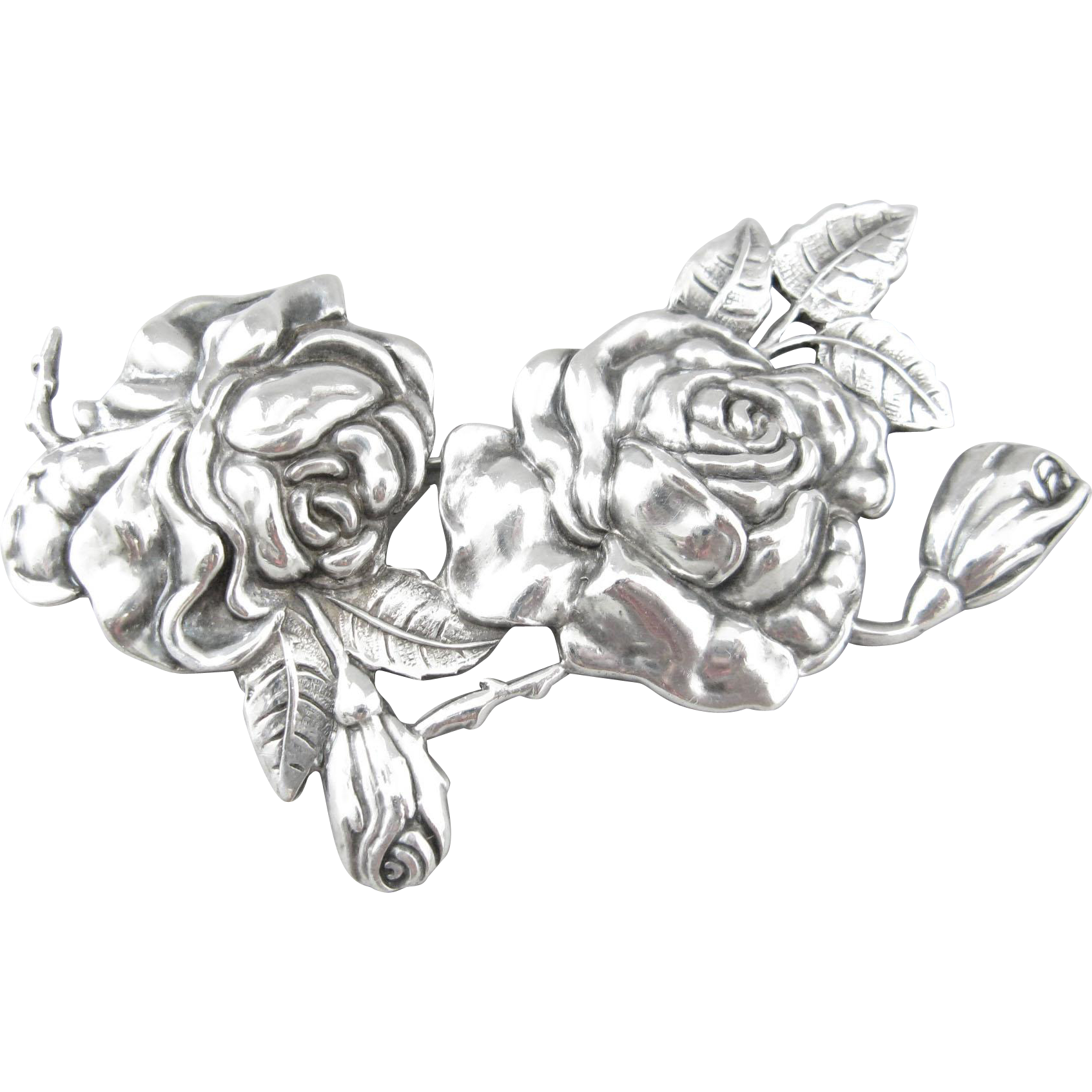 Pins drawing silver. Margot de taxco sterling