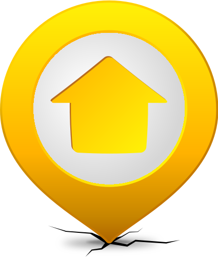 Pins vector location sign. Icon svg public domain