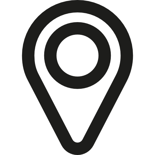 Pins vector pointers. Mapping icon
