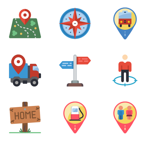Pins vector psd. Icon packs svg