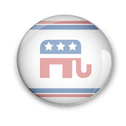 Pins vector vote. Hand drawn collection download