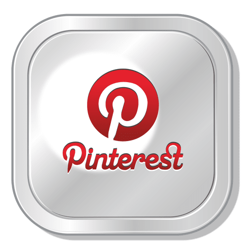 Pinterest transparent png. Squared icon svg vector