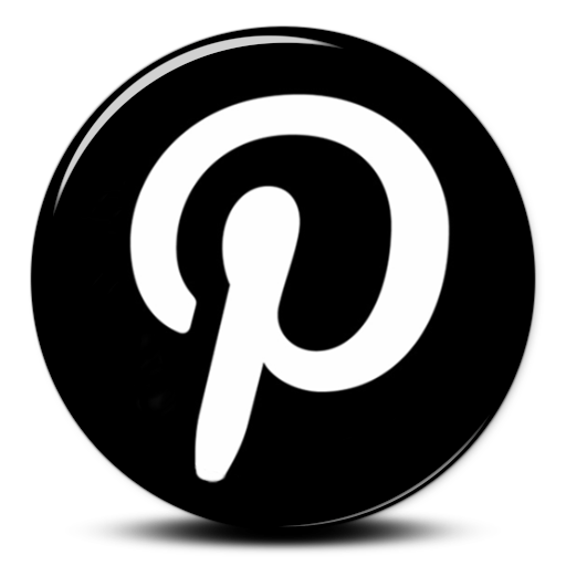 Pinterest logo png transparent background. Black icon free icons