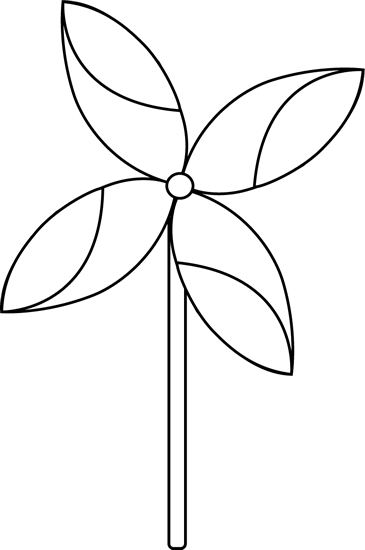 Pinwheel drawing black and white. Free outline cliparts download
