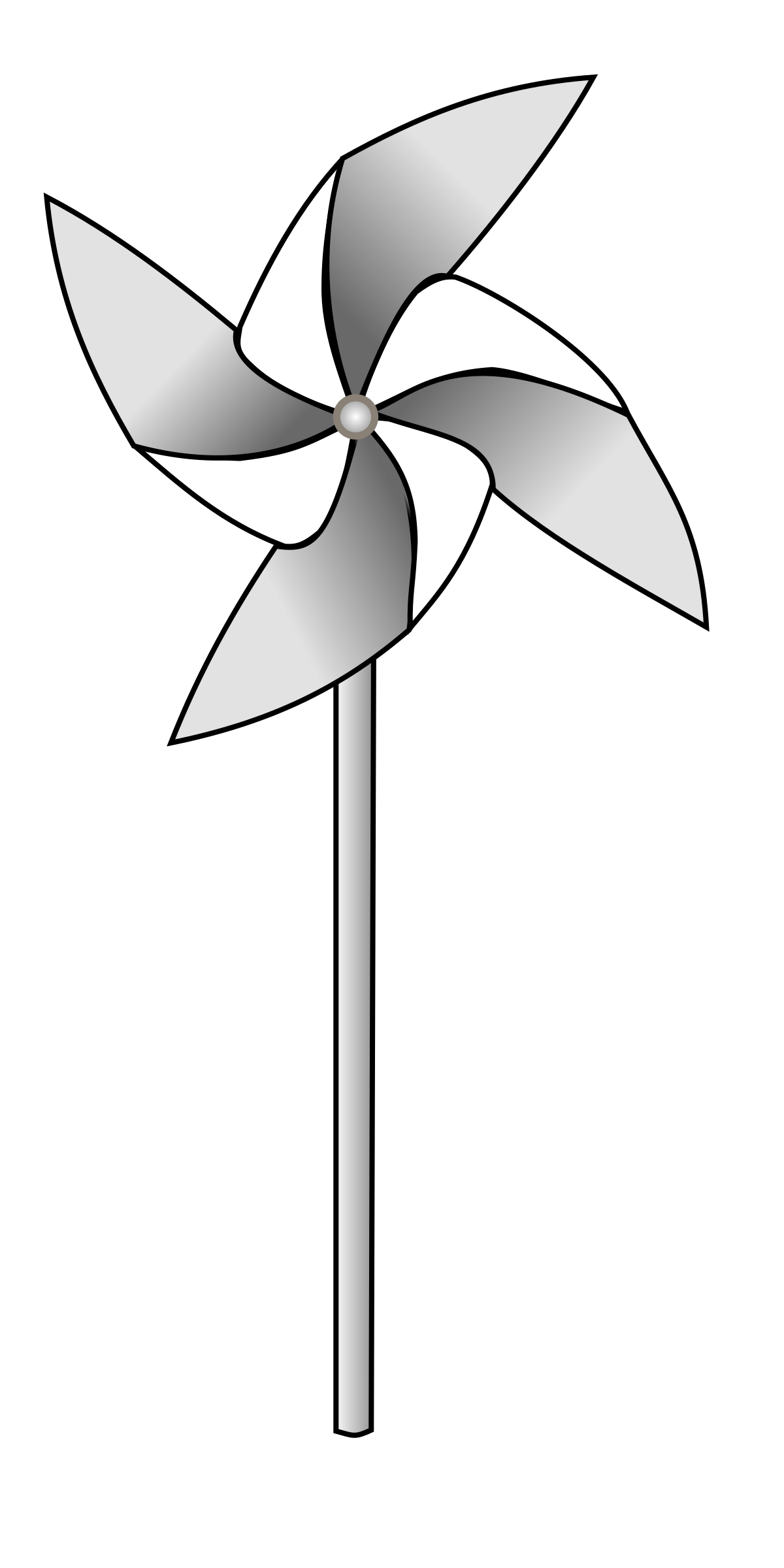 Pinwheel drawing black and white. Big clip art clipart