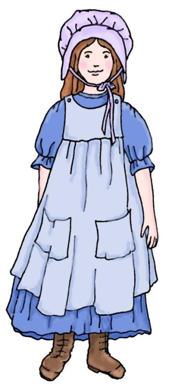Pioneer clipart cute. Free pioneers illustrations and
