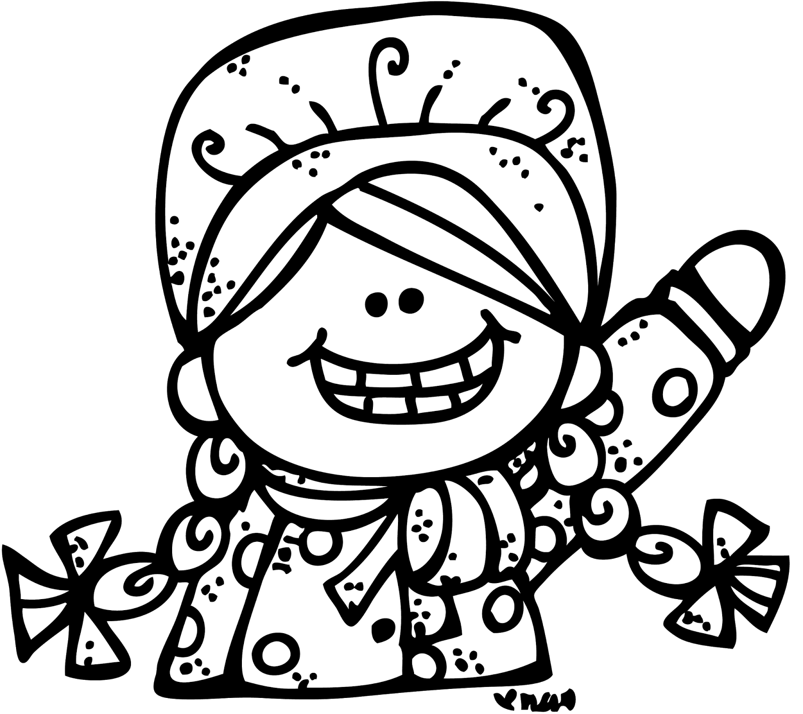 Pioneer clipart cute. Melonheadz illustrating day giveaway