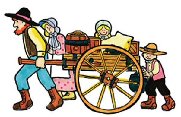 Pioneer clipart people. Free cliparts download clip