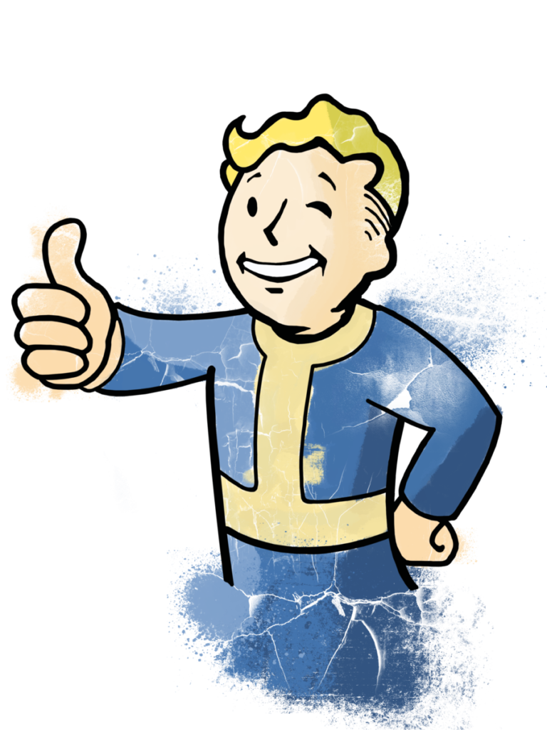 Pip boy thumbs up png. Vault by xxvaultboy xx