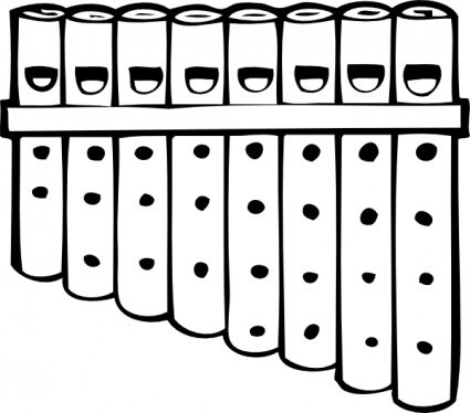 Pipe clipart piping. Free pan pipes and