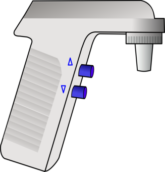 Pipette drawing biology. Eppendorf epje polymerase chain