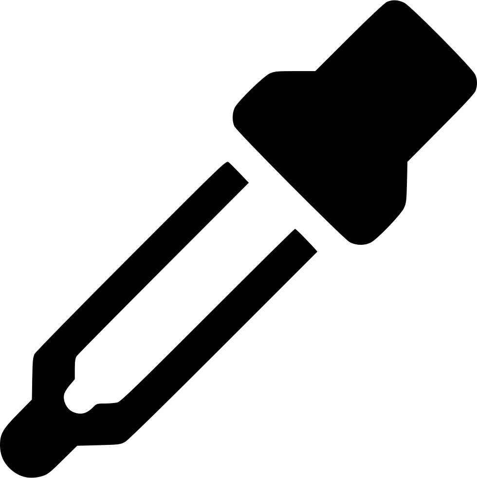 Pipette drawing svg. Dropper png icon free