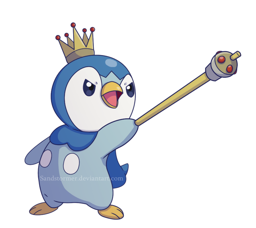 Emperor by sandstormer on. Piplup drawing realistic clipart