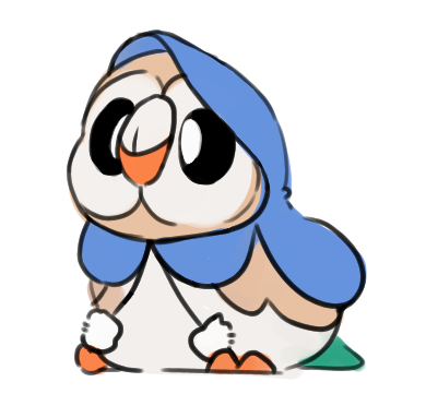 Piplup drawing basic. M tumblr rowlet dressed