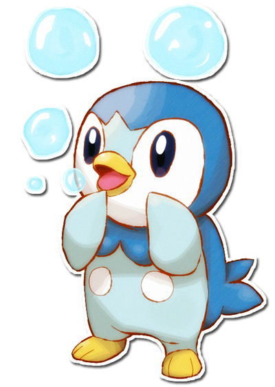 Piplup drawing basic. By sarahrichford on