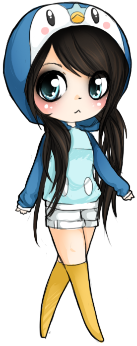 Piplup drawing cute. Hoodie by linkitty on
