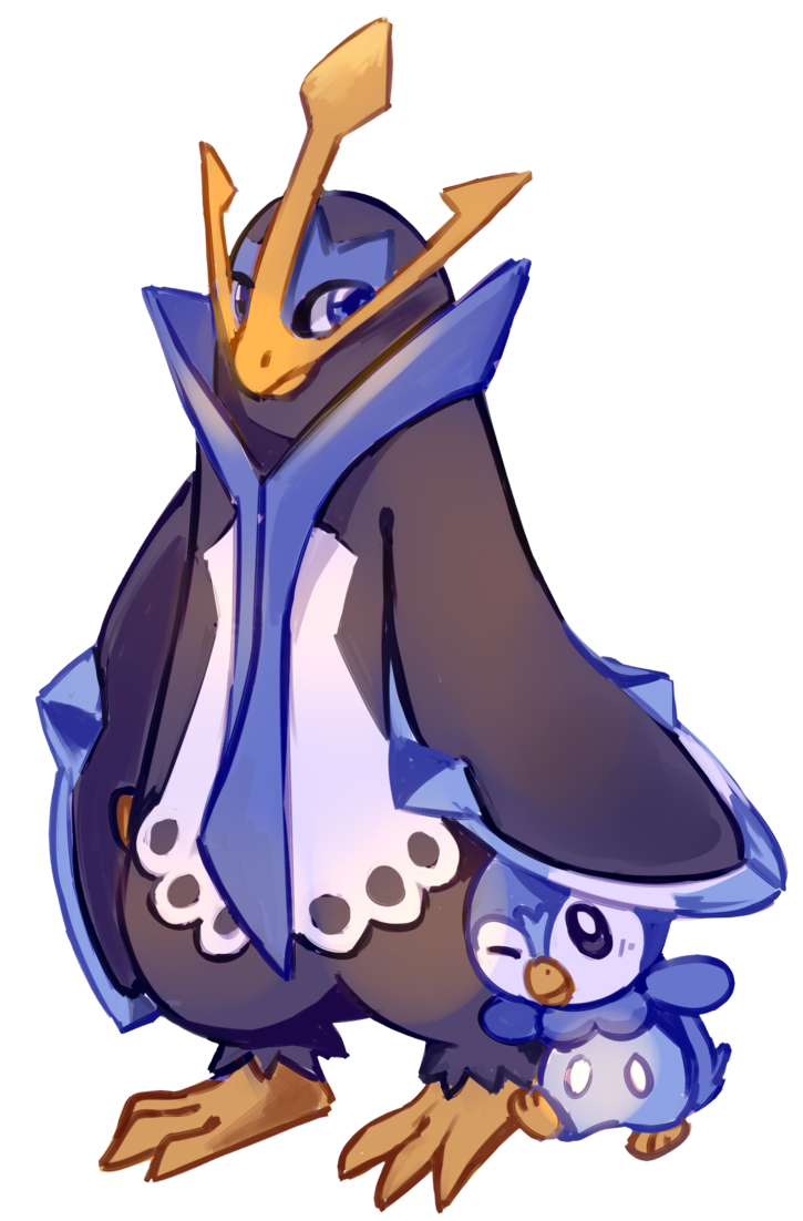 Piplup drawing empoleon. And by flavia elric